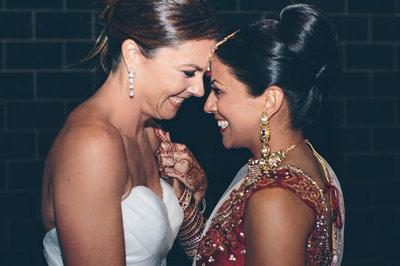 无码女同_直击印度女同的奢侈浪漫婚礼
