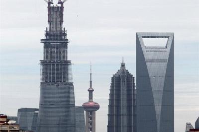 """上海""""廚房三件套""""大樓網絡爆紅"""