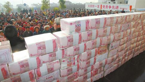 土豪村分红1300万 揭收益来源靠养猪种菜投资工业