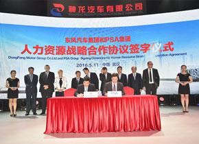 股东双方签订人力资源战略合作计划