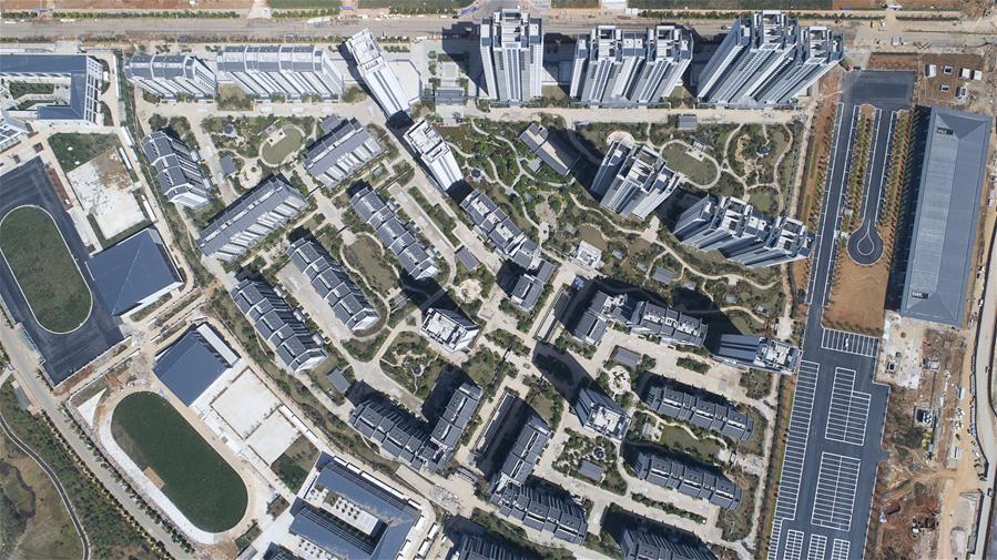 2017最新注册送白菜网军运会运动员村竣工 可容纳上万人居住