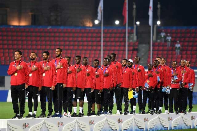 足球——男足:巴林队夺冠