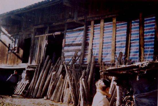 周国知家的木房子